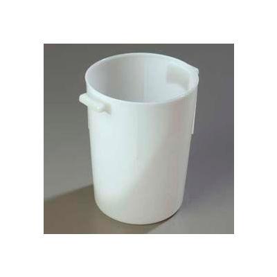 Carlisle 080002 - Bains Marie Container 8 Qt., White - Pkg Qty 12