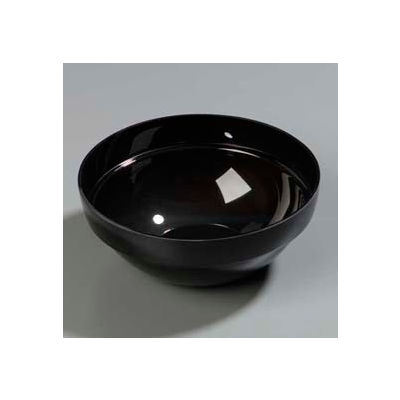 "Carlisle 810003 - Bowl, Stack, 9-1/2"" x 4"", 3 Qt., Black - Pkg Qty 4"