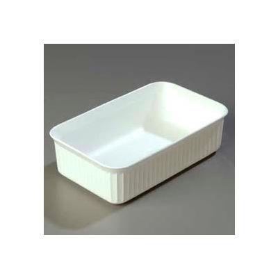 """Carlisle 811002 - Deliware® 5 Lb. Crock 10-1/16"""" x 6-3/16"""", White - Pkg Qty 12"""