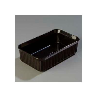 """Carlisle 811003 - Deliware® 5 Lb. Crock 10-1/16"""" x 6-3/16"""", Black - Pkg Qty 12"""