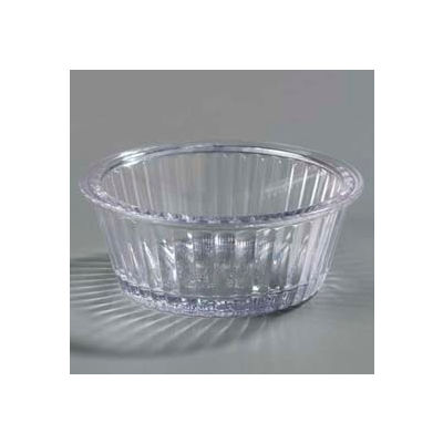Carlisle 084407 - Fluted Ramekin 2 Oz., Clear - Pkg Qty 48