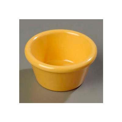 Carlisle 085222 - Smooth Ramekin 2 Oz., Honey Yellow - Pkg Qty 72