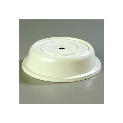 "Carlisle 91055202 - Polyglass Plate Cover 10-1/8"" To 10-1/2"", Bone - Pkg Qty 12"