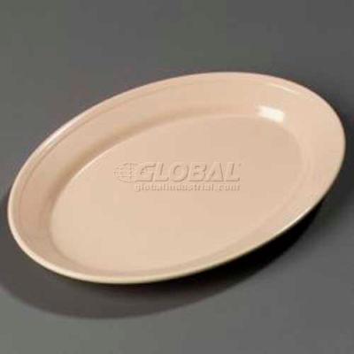 "Carlisle ARR12025 - Oval Platter, 12"" x 8-1/2"", Tan"