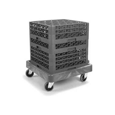 Carlisle C223603 - E-Z Glide™ Warewashing Rack Dolly, Black