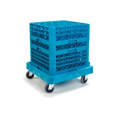 Carlisle C223614 - Warewashing Rack Dolly, Blue