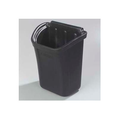 Carlisle CC11TH03 - Trash Bin for Bussing Cart, Black