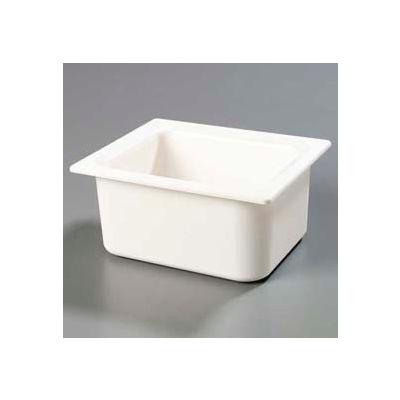 "Carlisle CM110102 - Coldmaster® 6"" Deep Half-Size Food Pan 192 Oz., White"
