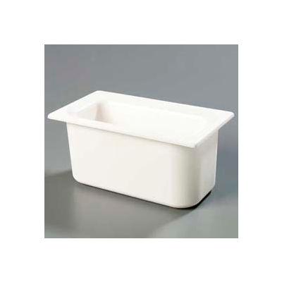 "Carlisle CM110202 - Coldmaster® 6"" Deep Third-Size Food Pan, White"
