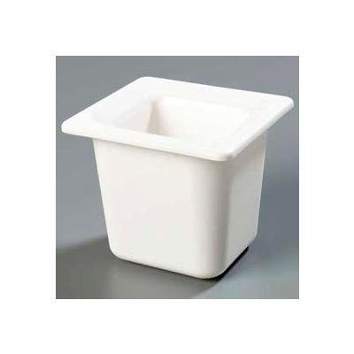 "Carlisle CM110402 - Coldmaster® 6"" Deep Sixth-Size Food Pan, White"