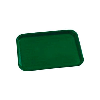 """Carlisle CT101408 - Cafe® Standard Tray 10"""" x 14"""", Forest Green - Pkg Qty 24"""