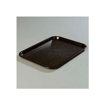 "Carlisle CT121603 - Cafe® Standard Tray 12"" x 16"", Black - Pkg Qty 24"