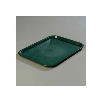 """Carlisle CT121608 - Cafe® Standard Tray 12"""" x 16"""", Forest Green - Pkg Qty 24"""