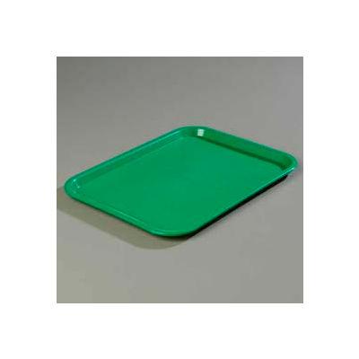 "Carlisle CT121609 - Cafe® Standard Tray 12"" x 16"", Green - Pkg Qty 24"