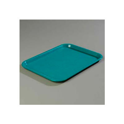 "Carlisle CT121615 - Cafe® Standard Tray 12"" x 16"", Teal - Pkg Qty 24"