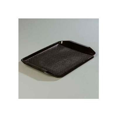 "Carlisle CT121703 - Cafe® Handled Tray 12"" x 17"", Black - Pkg Qty 24"