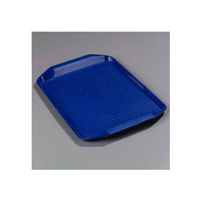 "Carlisle CT121714 - Cafe® Handled Tray 12"" x 17"", Blue - Pkg Qty 24"