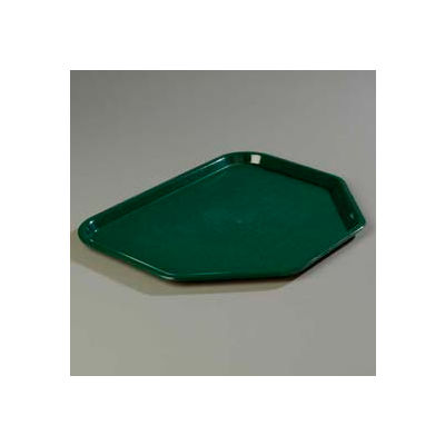 "Carlisle CT1713TR08 - Cafe® Trapezoid Tray 18"", 14"", 13/16"", Forest Green - Pkg Qty 12"