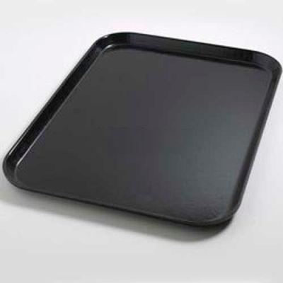 """Dinex DX1089I03 - Flat Tray, 14"""" x 18"""", 12/Cs, Onyx"""