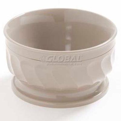 Dinex DX330031 - Turnbury® Insulated Pedestal Based Bowl, 9 Oz. 48/Cs, Latte
