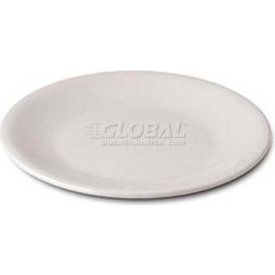 "Dinex DX4T902 - Cite® Entree Plate, 9"", 24/Cs, White"