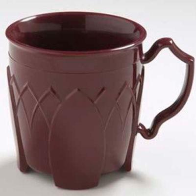 Dinex DX500061 - Fenwick Insulated Mug, 8 Oz., 48/Cs, Cranberry