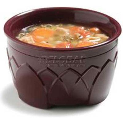 Dinex DX530061 - Fenwick Insulated Bowl, 9 Oz., 48/Cs, Cranberry