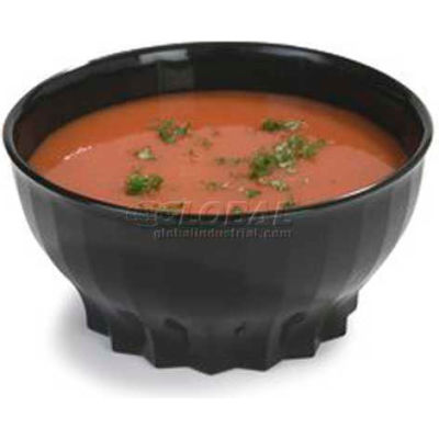 Dinex DX9300B03 - Tropez Bowl, High-Temp, 9 Oz., 48/Cs, Onyx