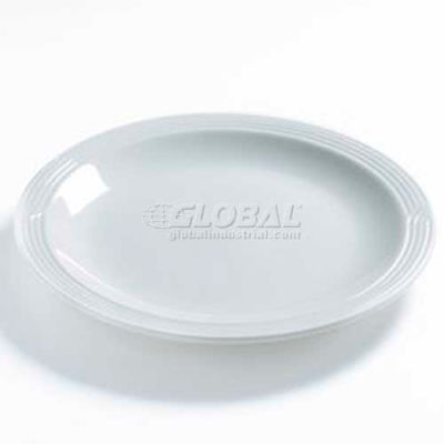 "Dinex DX9CP02 - Dinet® Entree Plate, 9"", 12/Cs, Ivory"
