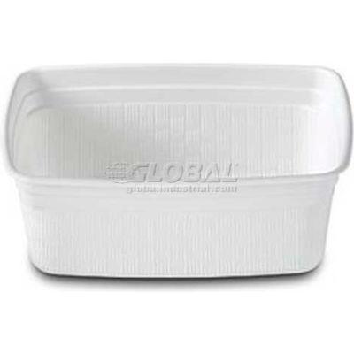 Dinex DXHH20 - Rect. Soup Bowl, 8 Oz., 1000/Cs, White