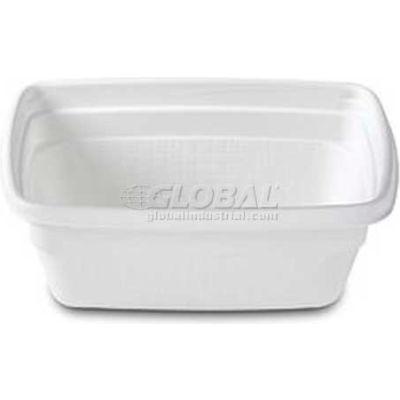 Dinex DXHH20A - Rect. Soup Bowl For Aladdin™ 8 Oz. 1000/Cs, White