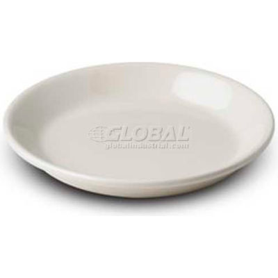 "Dinex DXHHC1002 - Dinet® Entree Plate, 7-3/4"", 24/Cs, Ivory"