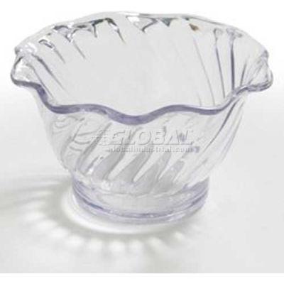 Dinex DXSWC503 - Tulip Cup- Swirl, 5 Oz., 96/Cs, Black