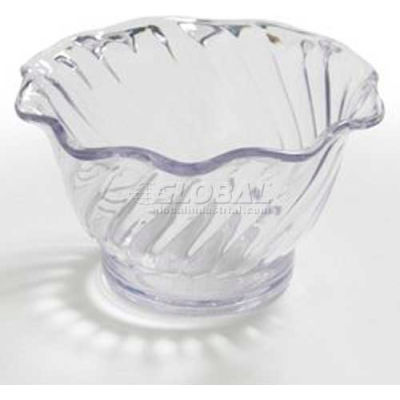 Dinex DXSWC507 - Tulip Cup- Swirl, 5 Oz. 96/Cs, Clear