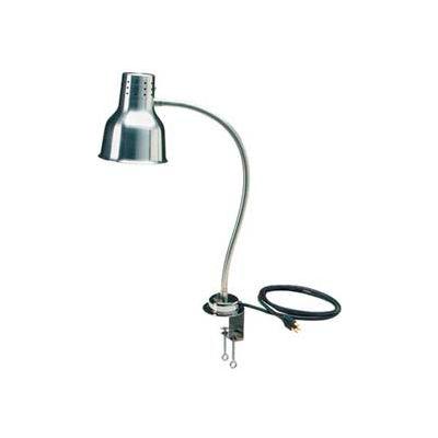 "Carlisle HL8185C00 - FlexiGlow™ Single Arm Heat Lamp, Includes Clamp 24"", Aluminum"