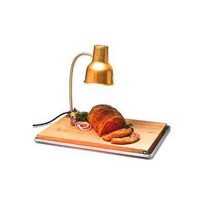 "Carlisle HL8185GB21 - FlexiGlow™ Single Arm Heat Lamp W/ Board & Pan 24"", Gold"