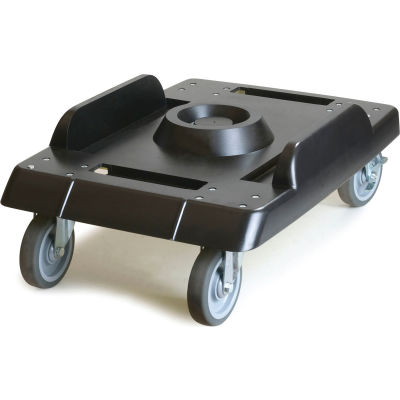 Carlisle IT41003 Dolly for End Loader With Casters - Black