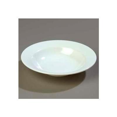 """Carlisle KL12302 - Wide Rimmed Salad Bowl 7-3/4"""", White - Pkg Qty 48"""
