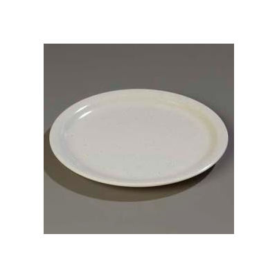 "Carlisle KL20070 - Kingline™ Dinner Plate 8-29/32"" x 25/32"", Adobe - Pkg Qty 48"
