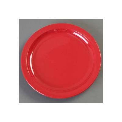 "Carlisle KL20105 - Kingline™ Sandwich Plate 7-7/32"" x 3/4"", Red - Pkg Qty 48"