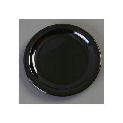 "Carlisle KL20403 - Kingline™ Pie Plate 6-7/16"" x 5/8"", Black - Pkg Qty 48"
