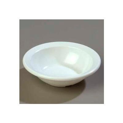"Carlisle KL80502 - Kingline™ Rimmed Fruit Bowl 4.4 Oz., 4-19/32"", White - Pkg Qty 48"