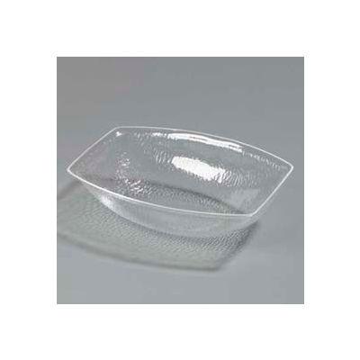 Carlisle OSB17207 - Pebbled Bowl 5.5 Qt, Oval, Clear - Pkg Qty 4