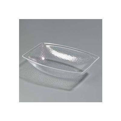 Carlisle OSB17607 - Pebbled Bowl 11 Qt, Oval, Clear - Pkg Qty 4
