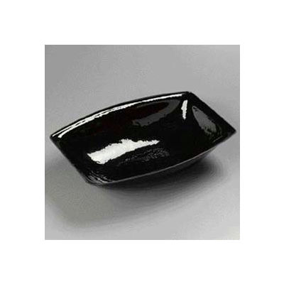 Carlisle OSB17803 - Pebbled Bowl 15 Qt. Oval, Black - Pkg Qty 4