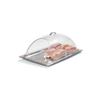 "Carlisle PSD21EH07 - Display Cover, 21-1/4"" x 13-3/8"", End Cut, Fits Full Size Top Notch Food Pans"