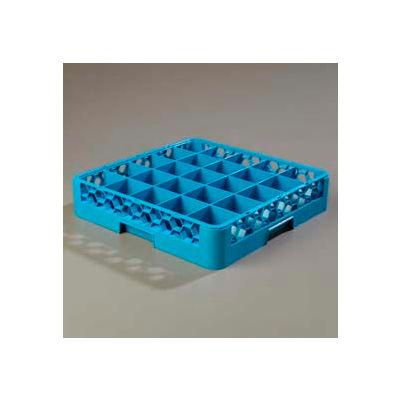 Carlisle RG2514 - Opticlean™ 25-Compartment Glass Rack, Carlisle Blue - Pkg Qty 6