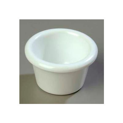 Carlisle S27502 - Smooth Ramekin 1.5 Oz., White - Pkg Qty 48