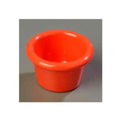 Carlisle S27552 - Smooth Ramekin 1.5 Oz., Sunset Orange - Pkg Qty 48