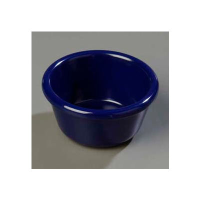 Carlisle S28060 - Smooth Ramekin 3 Oz., Cobalt Blue - Pkg Qty 48